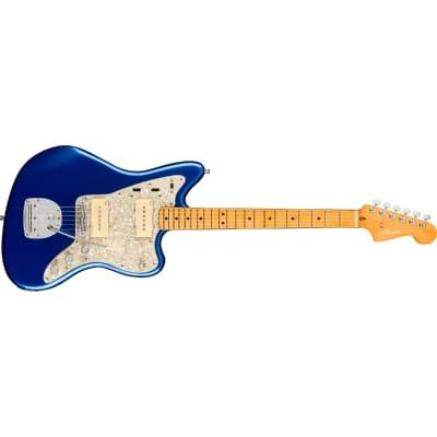 Fender American Ultra Jazzmaster - Maple, Cobra Blue for sale