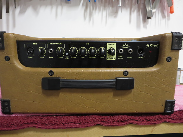 60W Acoustic Amplifier w// Reverb Stagg 60AA-R