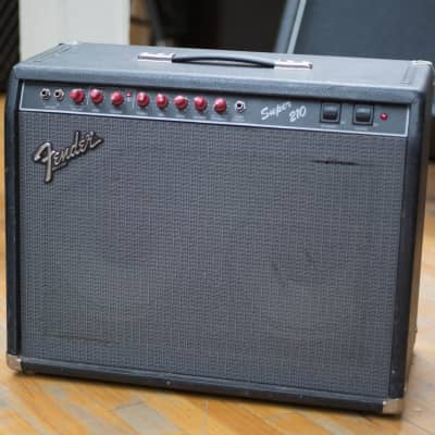 "FenderSuper 210 2-Channel 60-Watt 2x10"" Guitar Combo1990 - 1992"