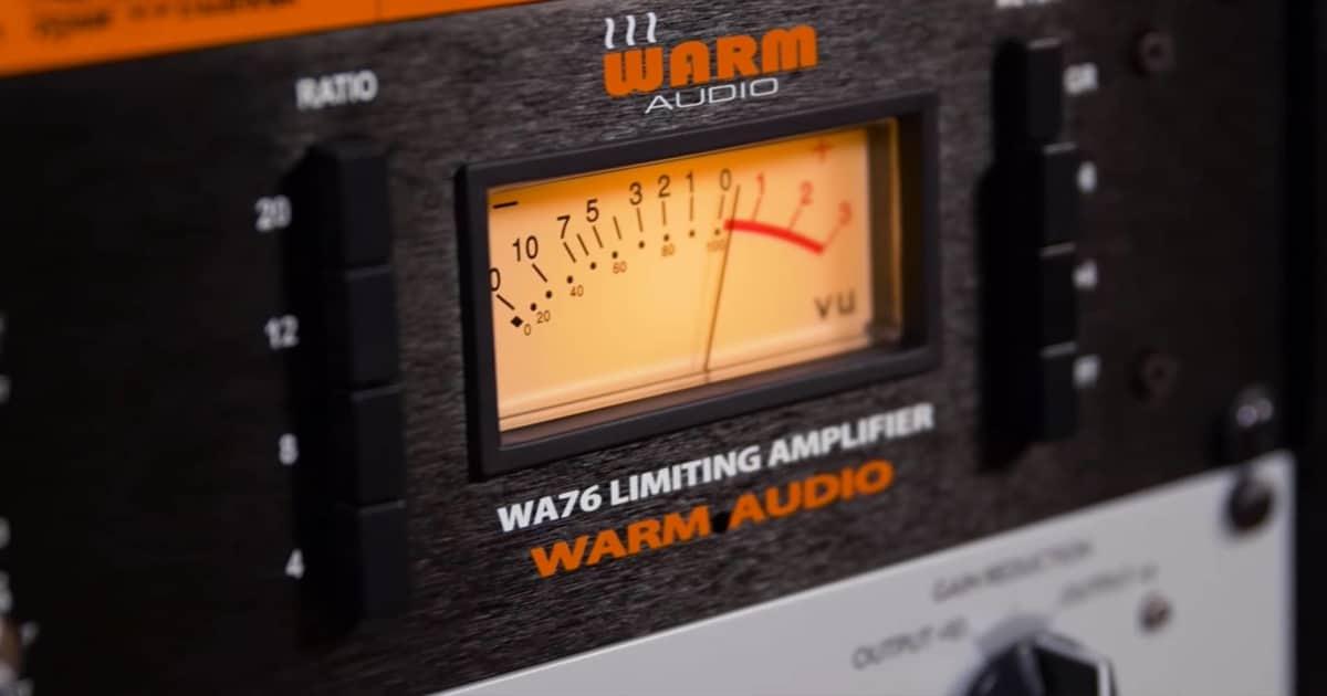 video warm audio wa76 discrete compressor limiter reverb news. Black Bedroom Furniture Sets. Home Design Ideas