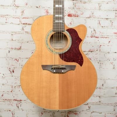 Takamine EG523SC12 12-String Acoustic-Electric Guitar Natural x4338 (USED)