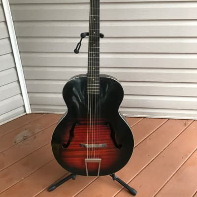 Harmony Monterey H950 Redburst Vintage Acoustic Guitar for sale