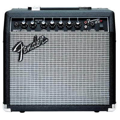 "Fender Frontman 15R Series II 2-Channel 15-Watt 1x8"" Guitar Practice Amp with Reverb 2002 - 2011"