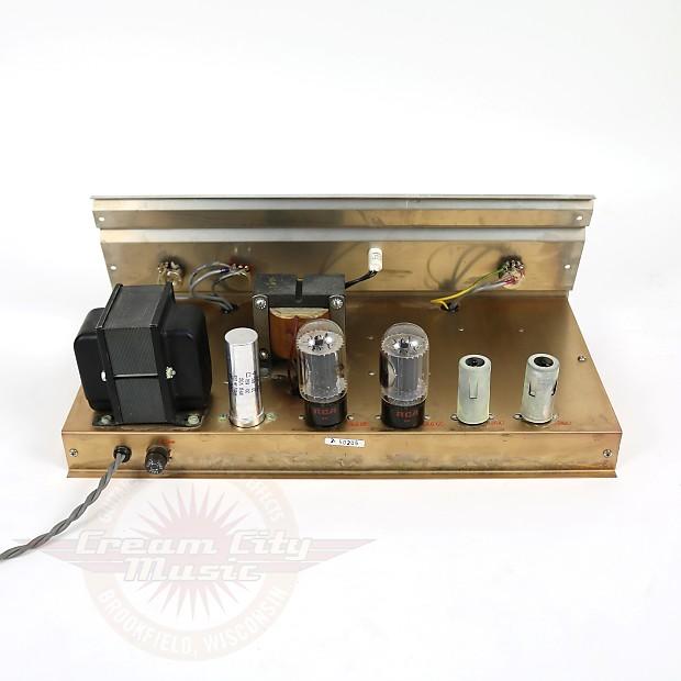 Vintage 1969 Gretsch 6170 Pro Bass 25w 1x15 Tube Combo Amp