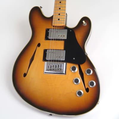 Fender  Starcaster 1976 Sunburst with Original Case for sale