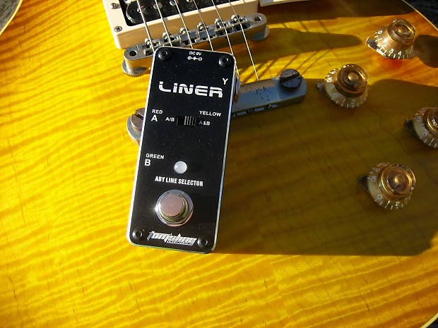 tomsline engineering  Tomsline Engineering: Liner - A/B/Y switch | Reverb