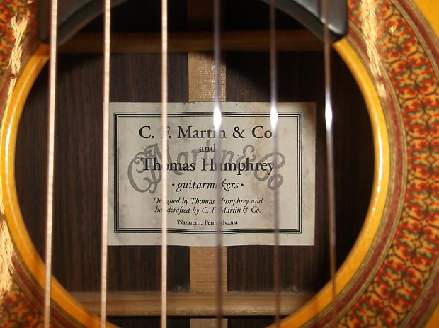 Martin C Tsh Thomas Humphrey Classical Guitar W Case New