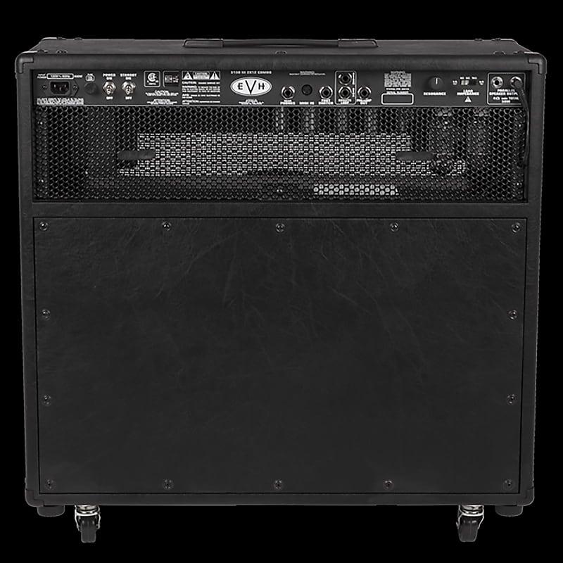 evh 5150 iii 2x12 50 watt tube combo amplifier black reverb. Black Bedroom Furniture Sets. Home Design Ideas