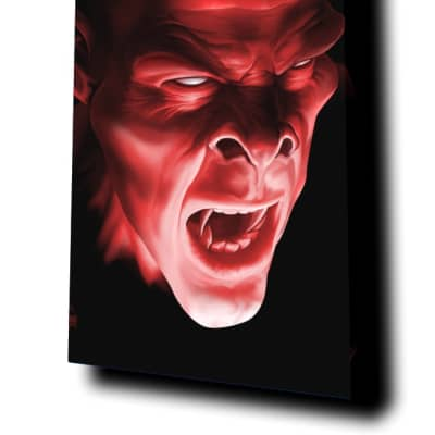 """""""Shadow Demon"""" by Tom Wood - 244 Portrait Acoustic Panel"""