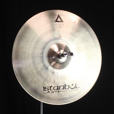 """Istanbul Agop 15"""" Xist Brilliant Hi Hats - 1037g/1288g (video demo)"""
