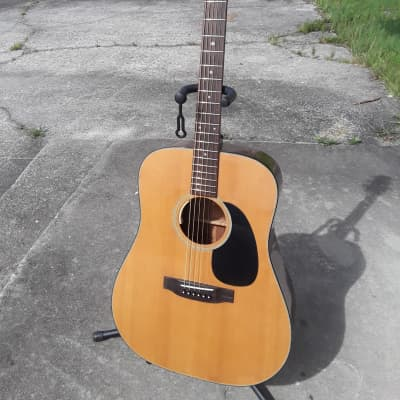 Takamine F-340 1988 Natural (Vintage) With LR Baggs Electronics for sale