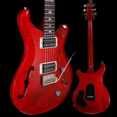PRS Paul Reed Smith S2 Custom 22 Semi Hollow, Scarlet Red 001 6lbs 10.1oz for sale