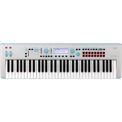 Korg Kross 2 61-Key Limited Edition Synthesizer Workstation - Light Blue