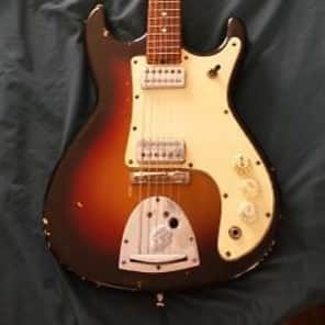Kapa Challenger 1960's 2 Tone Sunburst for sale
