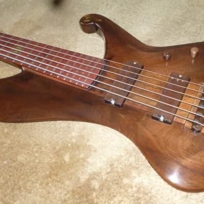 private stock handmade bass guitar,