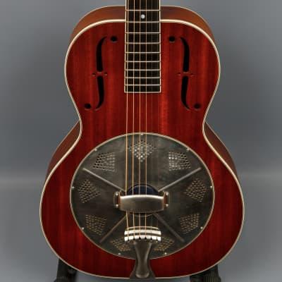 2010 National El Trovador Mahogany Single Cone Guitar for sale
