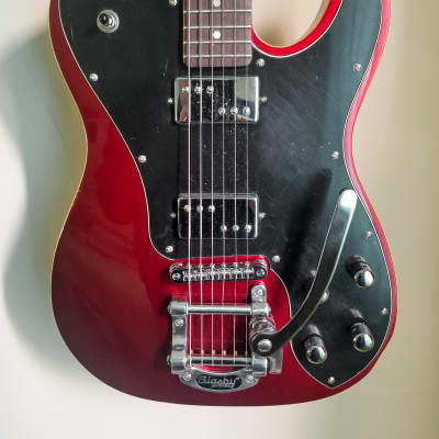 Schecter PT Fastback II B w/ Bigsby Tremolo Metallic Red w/ Rosewood Fretboard for sale