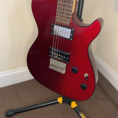 Manson Carbonita 2012 Red Carbon Fibre for sale