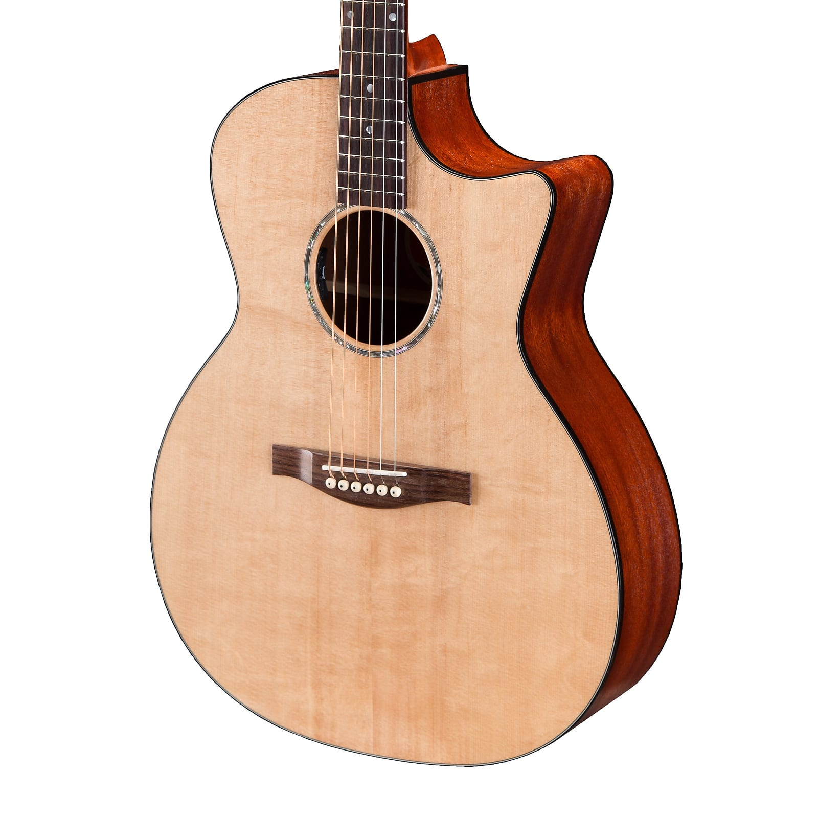 Eastman PCH1-GACE Solid Top Grand Auditorium Cutaway Acoustic Electric Guitar