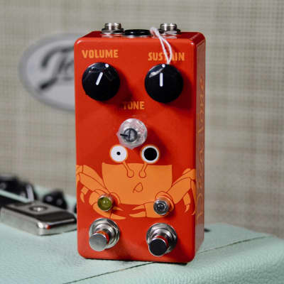 Decatone Fuzz (Tone Machine Clone) - Red Deluxe Version (Octave Footswitch)