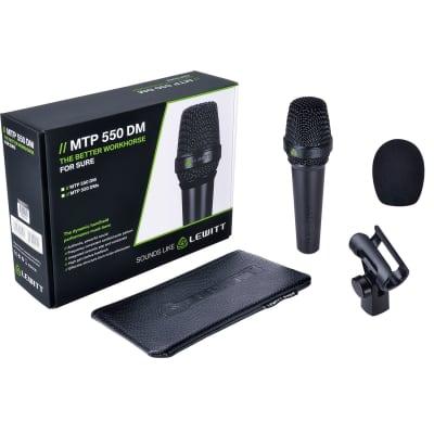 Lewitt MTP-550-DM MTP Live Series Handheld Dynamic Vocal Microphone (B-Stock)