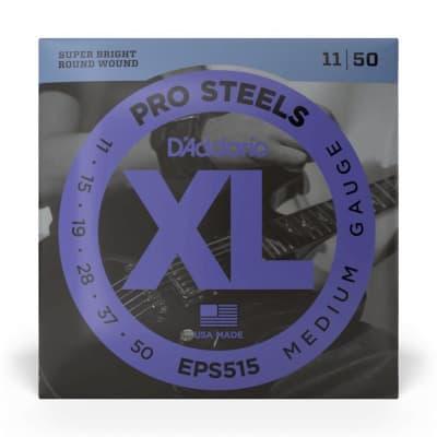 D'Addario EPS515 Pro Steel Electric Guitar Strings, 11-50