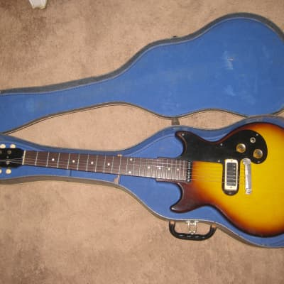 1961  Gibson Melody Maker -- Yellow Sunburst for sale