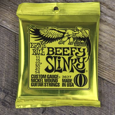 Ernie Ball Beefy Slinky 11-54 Nickel Wound Guitar Strings