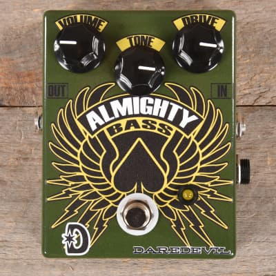 Daredevil Pedals Almighty Bass Fuzz MINT