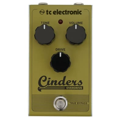 TC Electronic Cinders Overdrive Pedal for sale