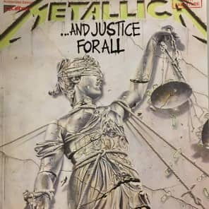 Cherry Lane Metallica ...And Justice for All Guitar Tab Book