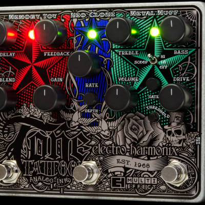 Electro Harmonix Tone Tattoo Multi Effects Pedal for sale