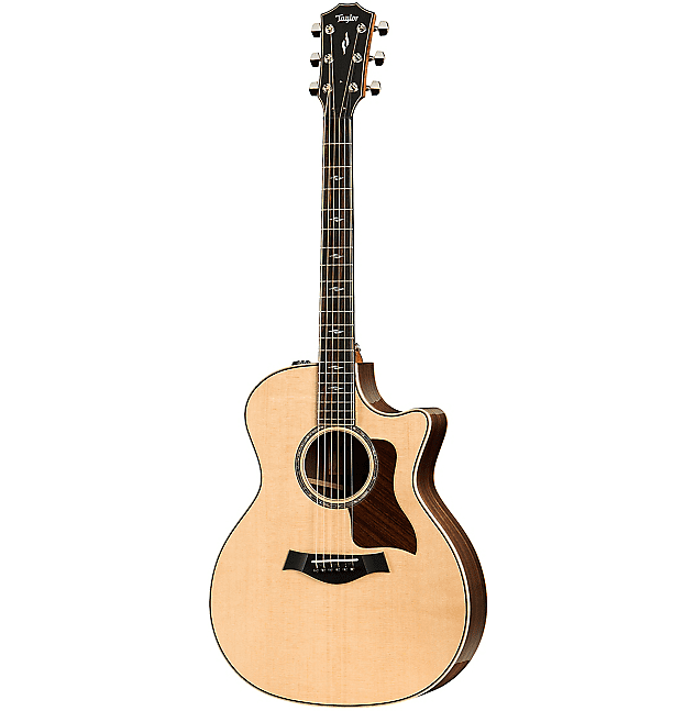 Guitars & Basses Taylor 814ce V-class Grand Auditorium Acoustic-electric Natural
