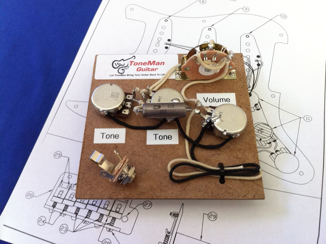 Stratocaster style wiring harness eric johnson set up wired reverb asfbconference2016 Image collections