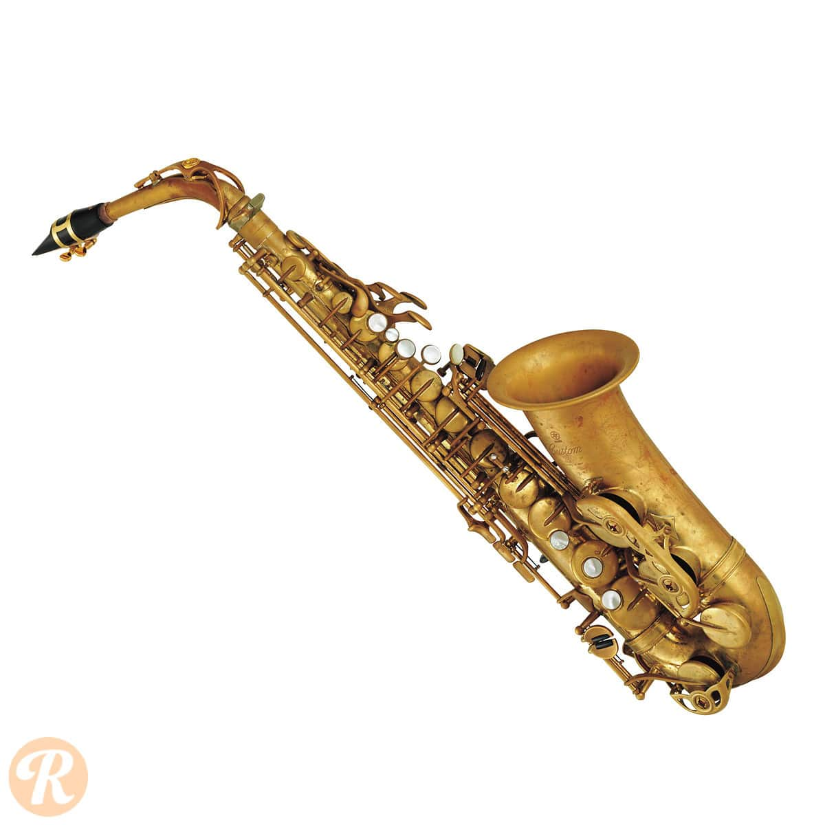 yamaha yas 82z custom z alto saxophone 2010s raw brass price reverb. Black Bedroom Furniture Sets. Home Design Ideas