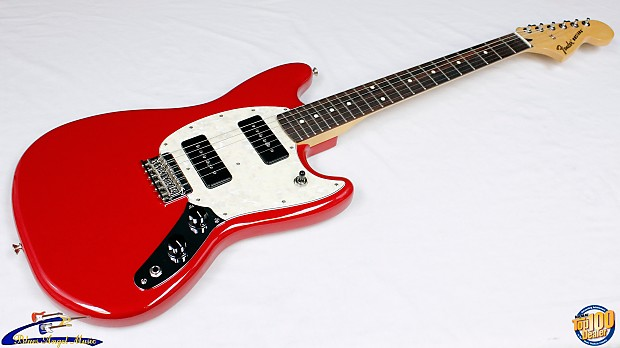 Fender Mustang 90 Offset Electric Guitar Torino Red, MP-90 | Reverb