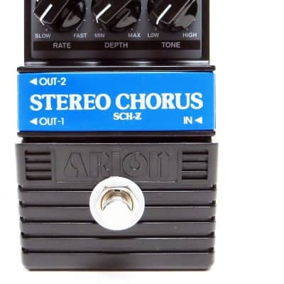 Limited EWS Arion SCH-Z [Chorus/Vibe] Mod Great Lush Chorus Vibrato Pedal image