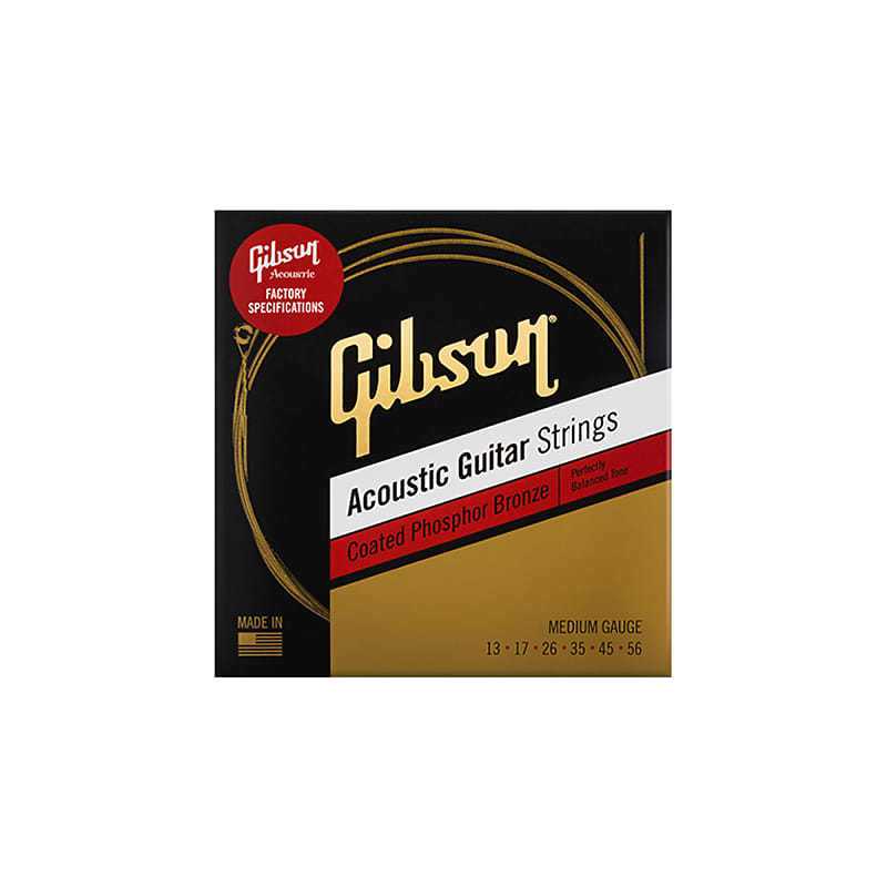 gibson coated phosphor bronze acoustic guitar strings medium reverb. Black Bedroom Furniture Sets. Home Design Ideas