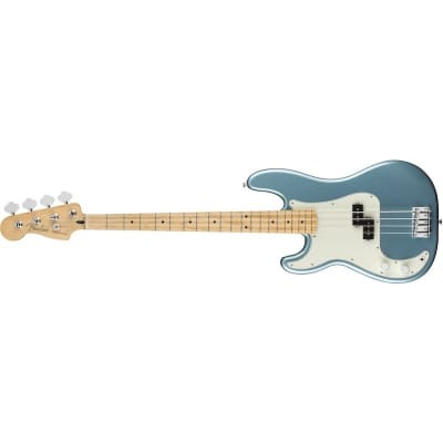 Fender Player Precision Bass Left Hand Tidepool Maple Neck for sale