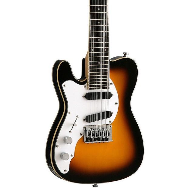 Warriors Imagine Dragons Electric Guitar Tab: Eastwood Guitars Mandocaster 12 Lefty