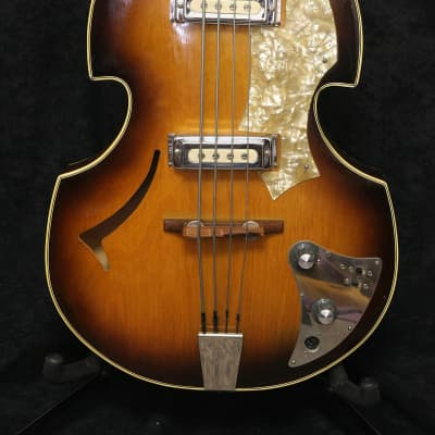 Huttl Beat Bass 1950's Sunburst for sale