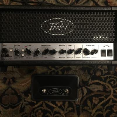 "Peavey 6505 MH ""Mini Head"" 2-Channel 20-Watt Guitar Amp Head"
