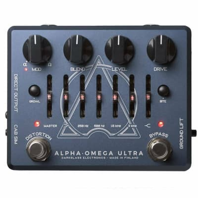 Darkglass Electronics Alpha-Omega Ultra, Dual Bass Distortion/Preamp Pedal ***NEW-IN-BOX***