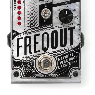Digitech FreqOut Natural Feedback Pedal for sale