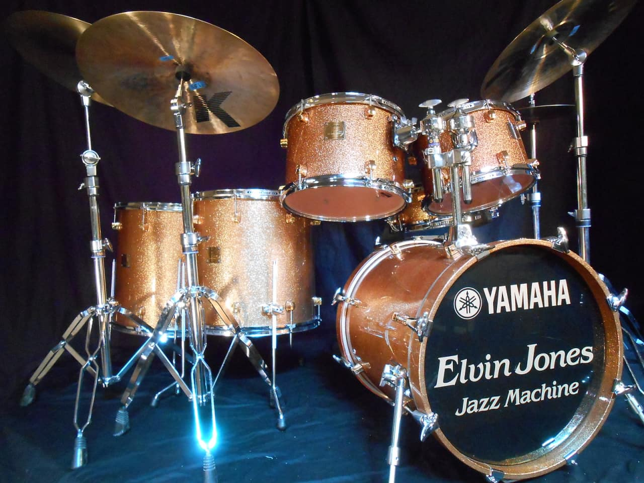 Yamaha Maple Custom Snare Drum For Sale