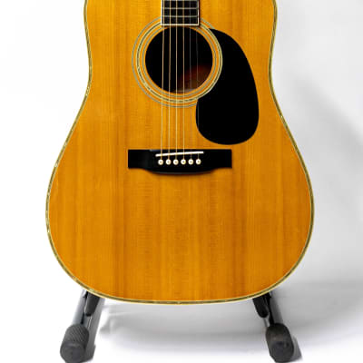 1984 Tokai Cat's Eyes TCE-25 Acoustic Guitar with Hardshell Case - Natural for sale