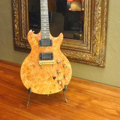 Moonstone Vulcan Deluxe 1981 Solid Burl Maple-1 of a Kind Amazing and Rare! for sale