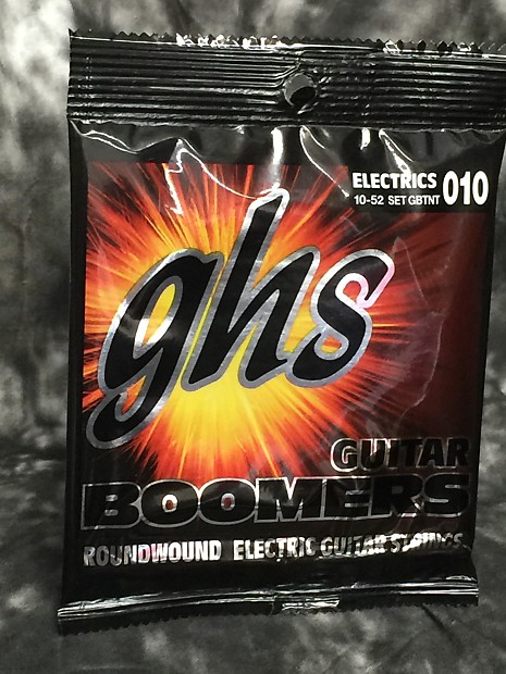 GB-TNT .010-.052 GHS Guitar Boomers Electric Guitar String Set