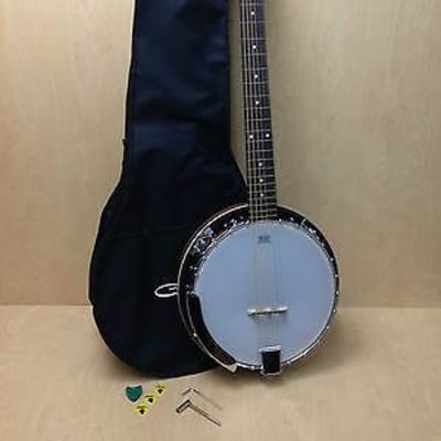 Brand new Caraya 6 string Banjo with Free carry bag. BJ-006 for sale