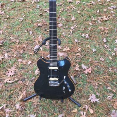 Wechter  Electric 7310 Metallic Blue Guitar w/Original Wechter HSC for sale